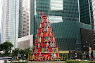 Singapore Momentum Sculpture