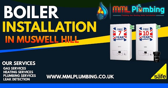 boiler installation in Muswell Hill