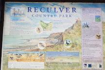 Reculver Country Park, Herne Bay, United Kingdom