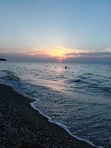 Дикий пляж Обрыв рядом с Ейском