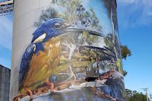 GrainCorp Silo Art, Rochester, Australia