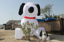 La Spiaggia di Snoopy, Grado Pineta, Italy