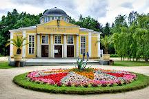 Dvorana Glauberovych pramenu, Frantiskovy Lazne, Czech Republic