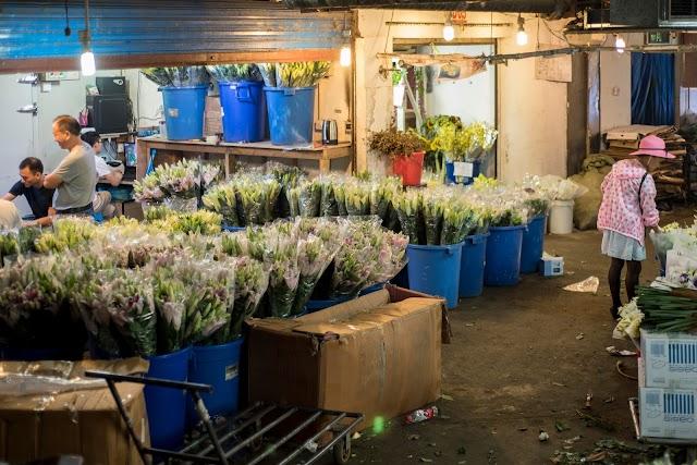 Caojiadu Flower Market