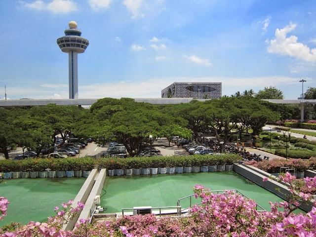Changi Airport apron area