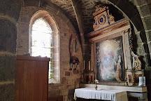 Eglise Saint-Leger de Cheylade, Cheylade, France