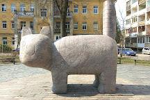 Sculpture Cat, Vilnius, Lithuania