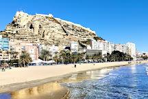 Platja del Postiguet, Alicante, Spain