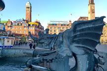 Dragon Fountain, Copenhagen, Denmark