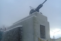 Monument to the 6th Heroic Komsomol Battery, Murmansk, Russia