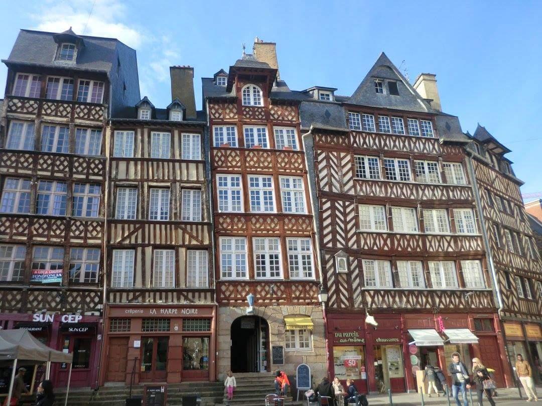 Rennes ille et vilaine qu ver y d nde dormir for Architectes rennes