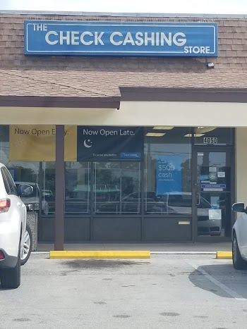 The Check Cashing Store Payday Loans Picture