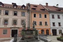 Mary's Shrine with St. Rocco and St. Anthony, Škofja Loka, Slovenia