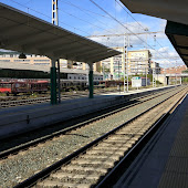 Train Station  Pamplona