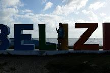The Belize Sign Monument, Belize City, Belize