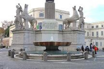 Fontana Dei Dioscuri, Rome, Italy