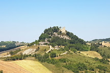 Ruins of Castle and National Museum 'Naborre Campaninì, Canossa, Italy