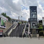 Железнодорожная станция  станции  Paris City Centre   Bercy Seine