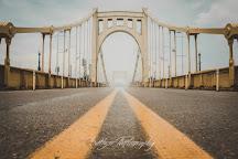 Roberto Clemente Bridge (Sixth Street Bridge), Pittsburgh, United States