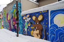 Third Street Art Alley, Niagara Falls, United States