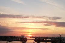 Nord Ostseekanal (Kiel Canal), Brunsbuettel, Germany
