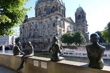 Three Girls One Boy Statue, Berlin, Germany