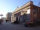 Национальный художественный музей Республики Беларусь, улица Карла Маркса на фото Минска