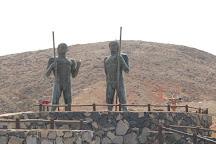 Morro Velosa Statues, Betancuria, Spain