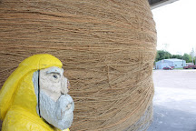 The World's Largest Ball of Sisal Twine, Cawker City, United States