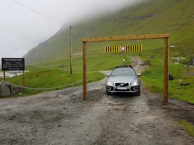 Parking - Haukland 1 (max hight 2.2 m)