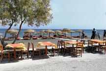 Perissa Black Sand Beach, Perissa, Greece
