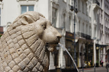 Lion Fountain, Budapest, Hungary