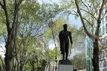 Estatua de Simon Bolivar, Lisbon, Portugal