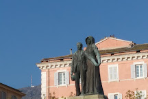 Saint-Nicolas Square, Bastia, France