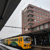 Железнодорожная станция  Pardubice Hlavni Nadrazi