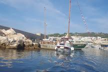 In barca nel Salento, Castro, Italy