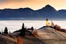 St Primoz Church, Kamnik, Slovenia