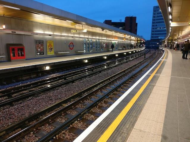 Wood Lane London Underground Station