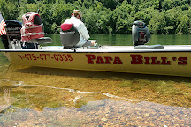 Papa Bill's White River Trout Guide Service, Bull Shoals, United States