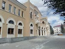 Цхинвальский драматический театр на фото Цхинвала