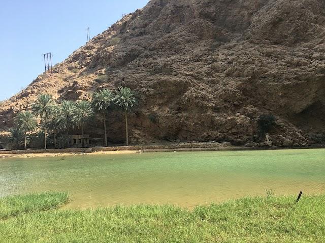 Wadi Ash Shab Pools and Cave