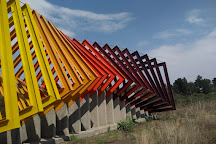 Espacio escultorico de la UNAM, Mexico City, Mexico