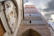 Torre Mudéjar de El Salvador, Teruel, Spain