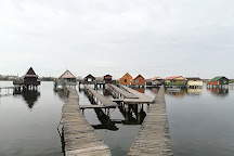 Bokod Floating Village, Oroszlany, Hungary