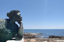 Estatua de la Bella Lola, Torrevieja, Spain