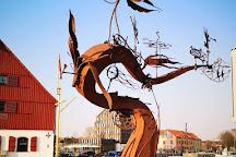 Sculpture Wind, Klaipeda, Lithuania