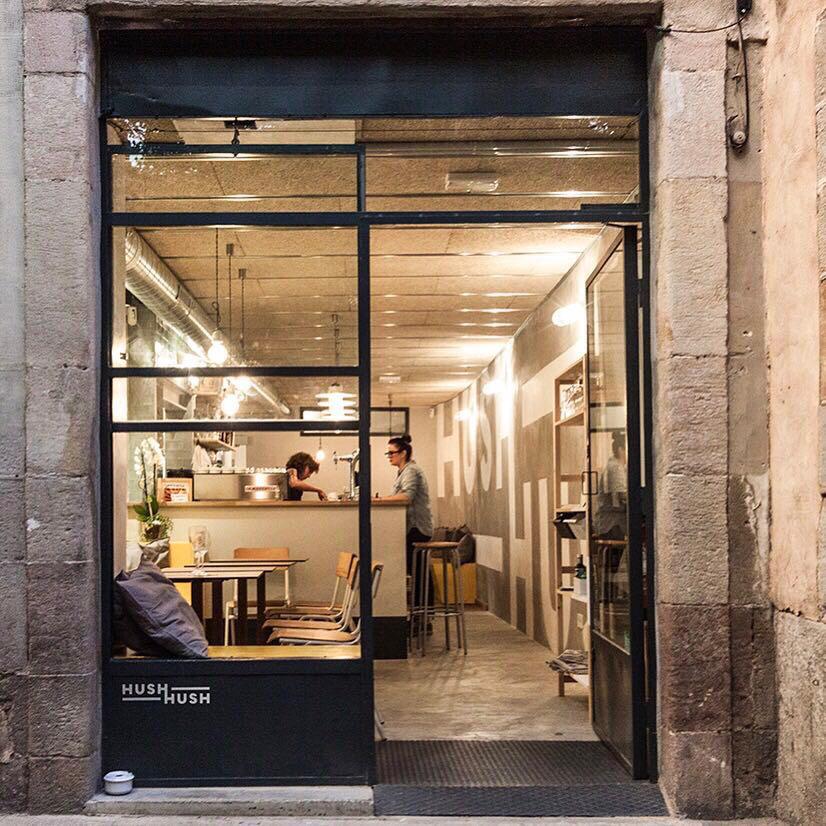 Hush Hush Cafe: A Work-Friendly Place in Barcelona