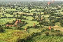Balloons over Bagan, Bagan, Myanmar