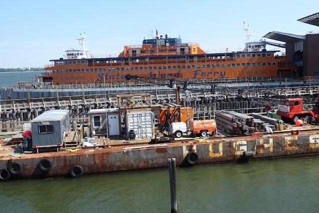 Ferry Terminal to Manhattan