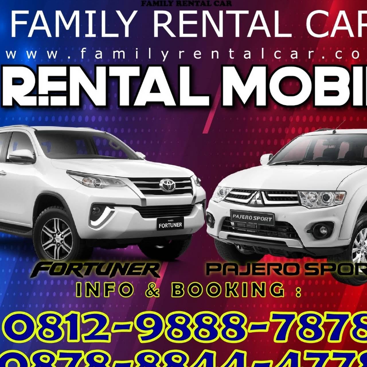 Family Rent Car Travel Agen Sewa Mobil